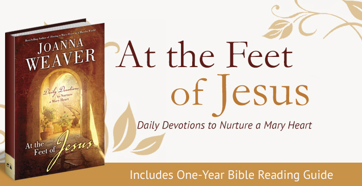 At The Feet Of Jesus Joanna Weaver