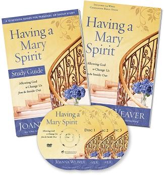 Having a Mary Spirit DVD Bible Study Set by Joanna Weaver