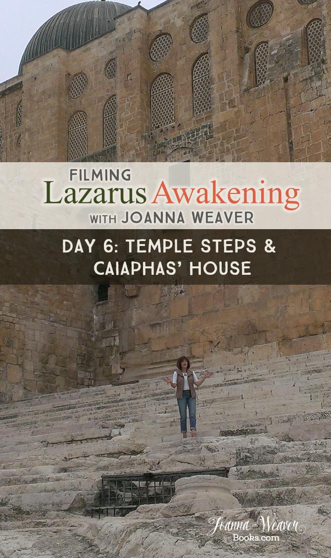 Lazarus Awakening BLOG Temple Steps