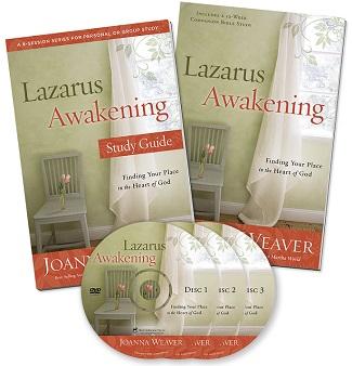 Lazarus Awakening DVD Bible Study Set by Joanna Weaver