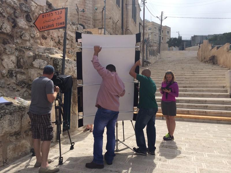 Israel - Bethany Arab helpers