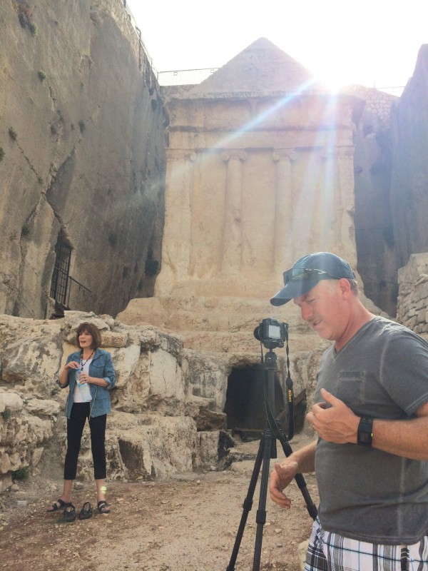 Israel - Filming in Kidron Valley