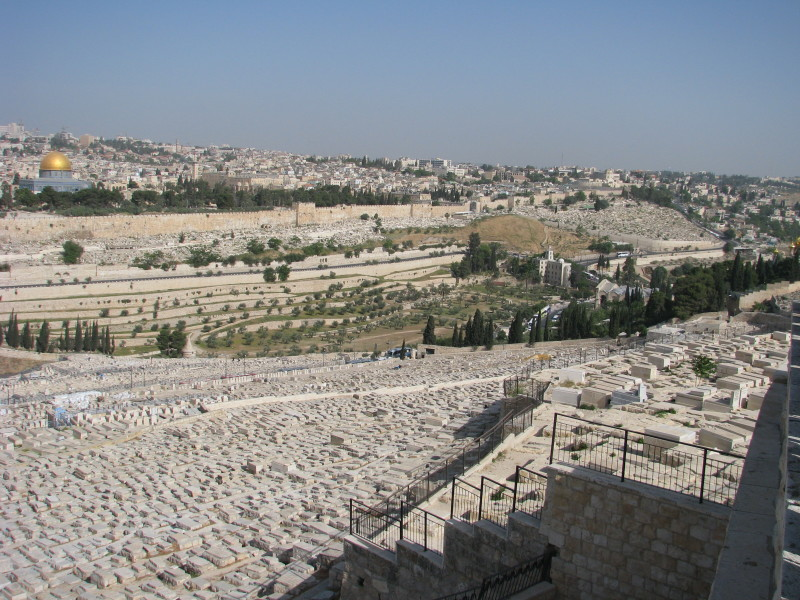 Israel - View from Mount of Olives