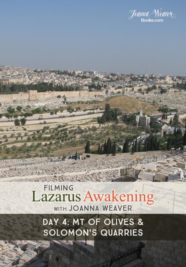 Lazarus Awakening BLOG - Mt of Olives