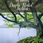 The Incredible Beauty of Being Deeply Rooted in God