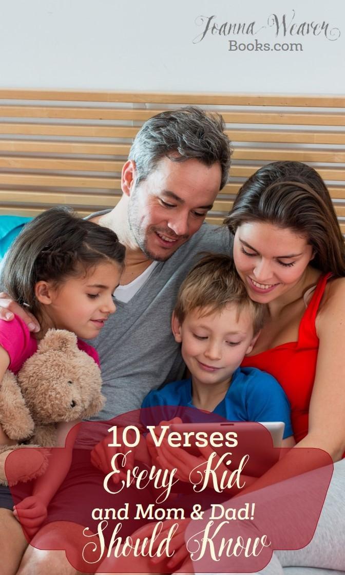 Scriptures for Kids Blog