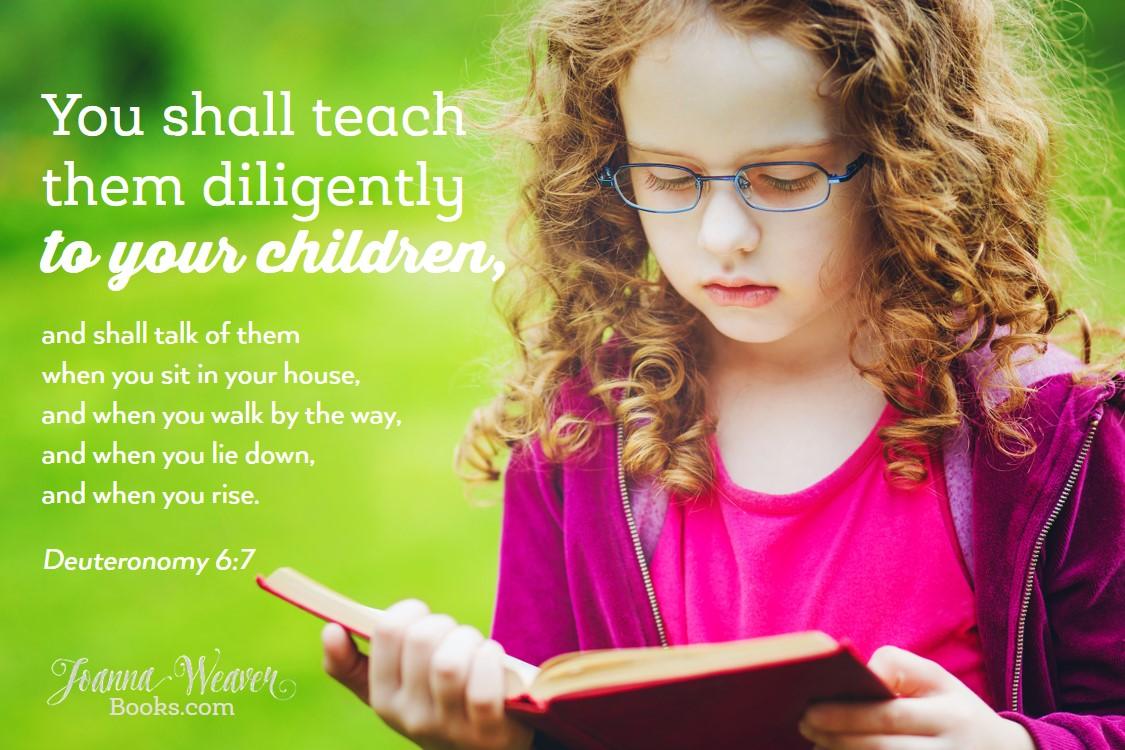Scriptures for Kids Deut 6 7