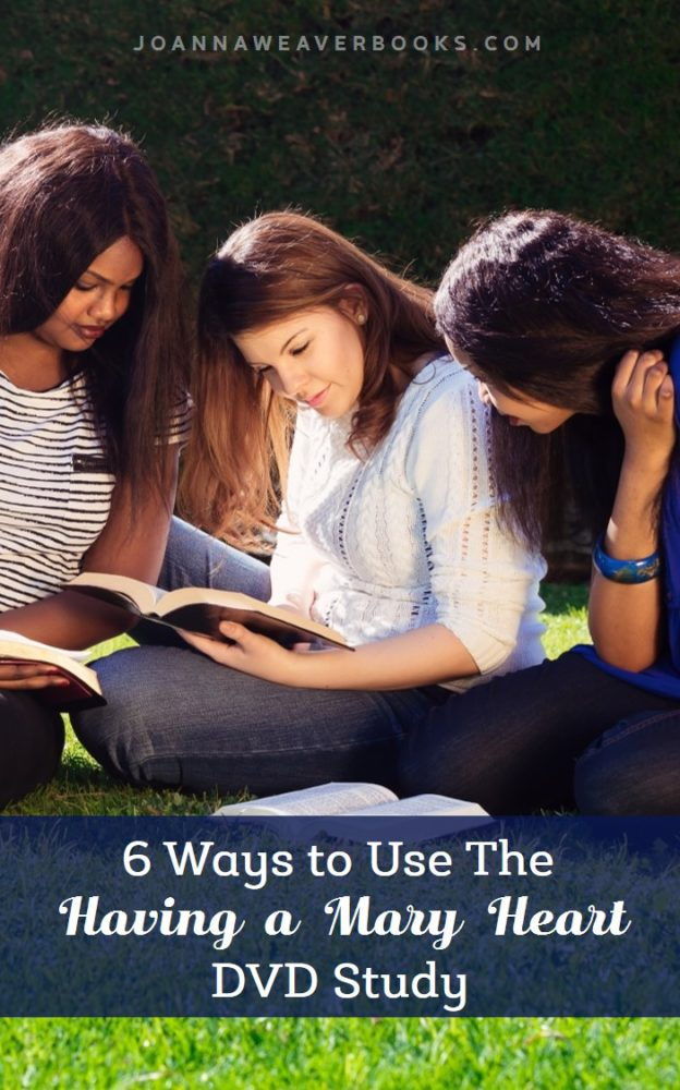 Check out all the different ways you can use Joanna Weaver's DVD Study and best-selling book, Having a Mary Heart in Martha World.