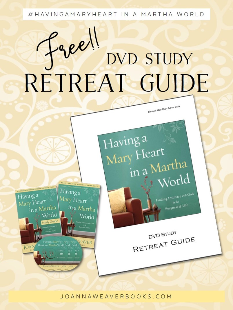 Complete guide for turning Having a Mary Heart in a Martha World DVD Study into a special event!