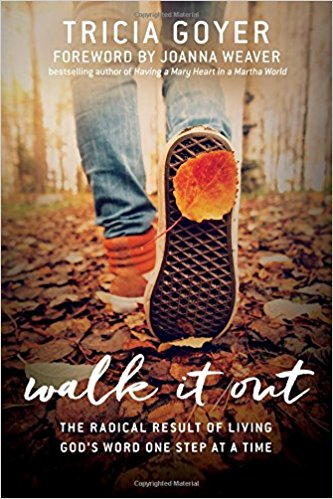 Check out Tricia Goyer's book, Walk It Out