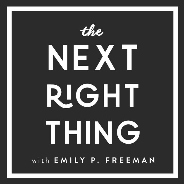 The Next Right Thing Podcast