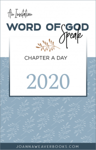 Word of God Speak 2020 - Chapter a Day Bible Reading Plan