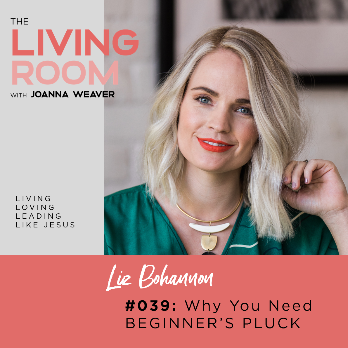 Why You Need Beginner's Pluck with Liz Bohannon - The Living Room - Episode 039